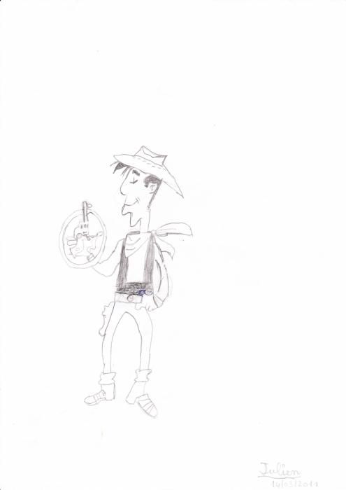Lucky Luke por Gegedtatane